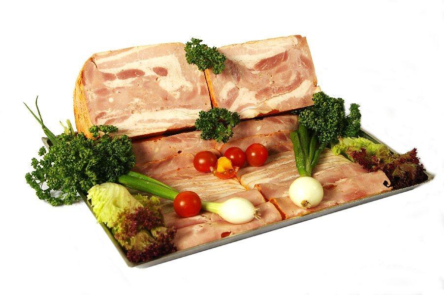 Janovická dušená slanina